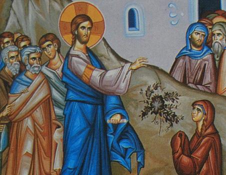 Viera kanaánskej ženy