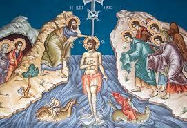 Bohozjavenie – Pokrstenie Isusa Christa