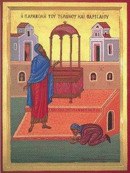 Nedeľa o mýtnikovi a farizejovi