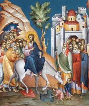 Vchod Pána do Jeruzalema